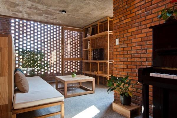 استفاده از آجر نما در طراحی داخلی