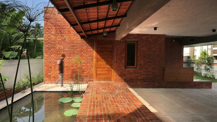 آجر کف در معماری ساختمان